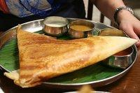 Introducción a la comida india: el Dosa