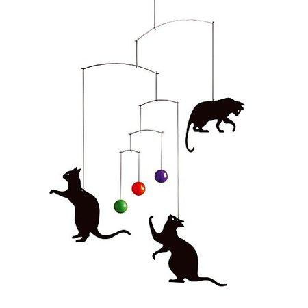 Detalle para la casa de... un amante de los gatos
