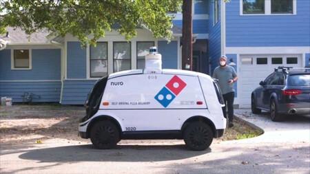 Dominos Pizza Entrega Nuro R2 2