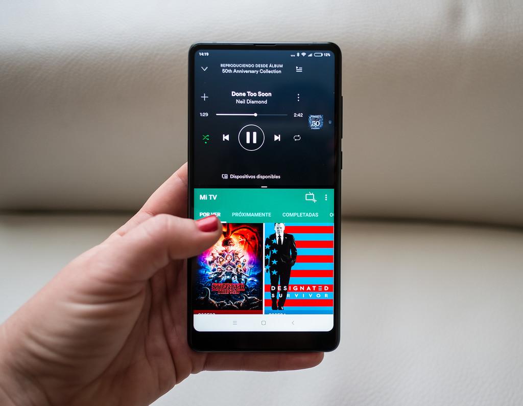 Xiaomi Mi Mix 2 Uso