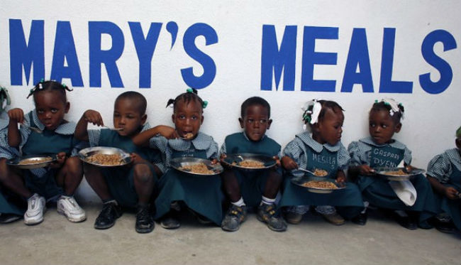 Mary's Meals Never second
