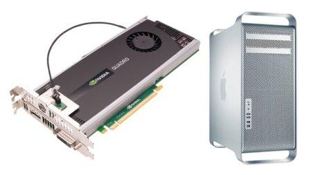 Quadro 4000, la nueva tarjeta de NVIDIA para los Mac Pro