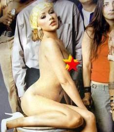 Cristina aguilera, desnuda en interview