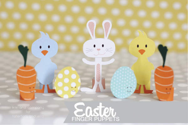 Imprimibles Gratis Marionetas Dedo Pascua