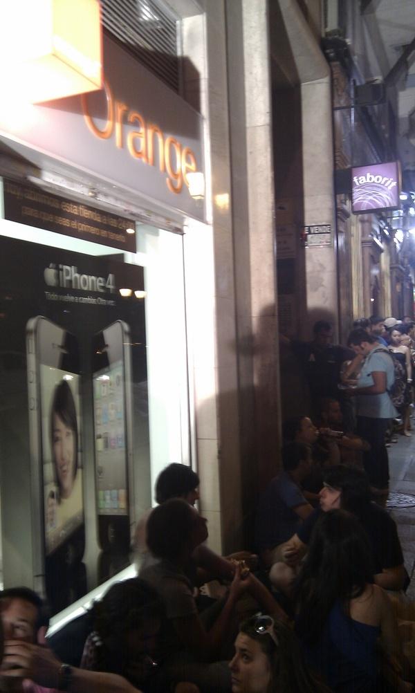 La noche del iPhone 4