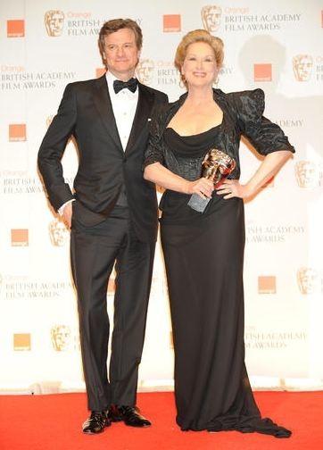 Los BAFTA 2012. Todos muy formalitos, aunque hubo algún que otro desatino