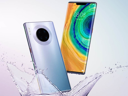 Huawei Mate 30 Pro: el más potente de Huawei tiene cuatro cámaras traseras y llega sin Google Play Store