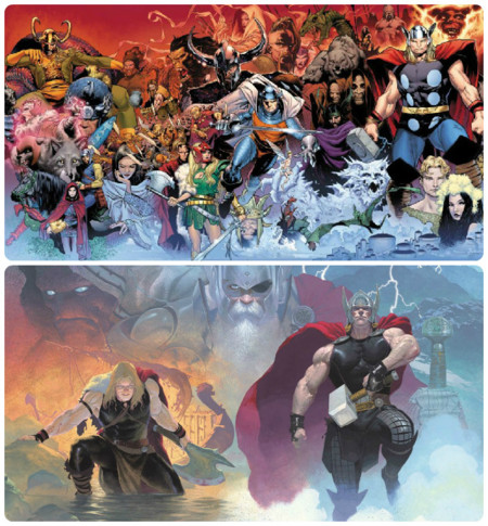 Thor Comic Central