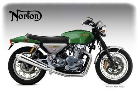 Norton Comando 961 Fastback Concept by Oberdan Bezzi