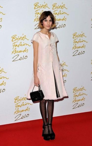 Alfombra roja de los British Fashion Awards 2010