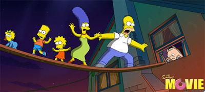 Estrenos de la semana | 27 de julio ¡Los Simpson ya están aquí!