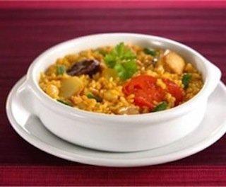 Receta de arroz campero