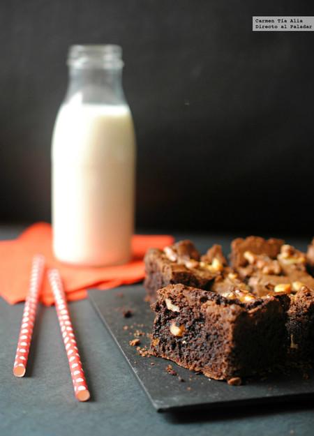 brownie sin gluten receta