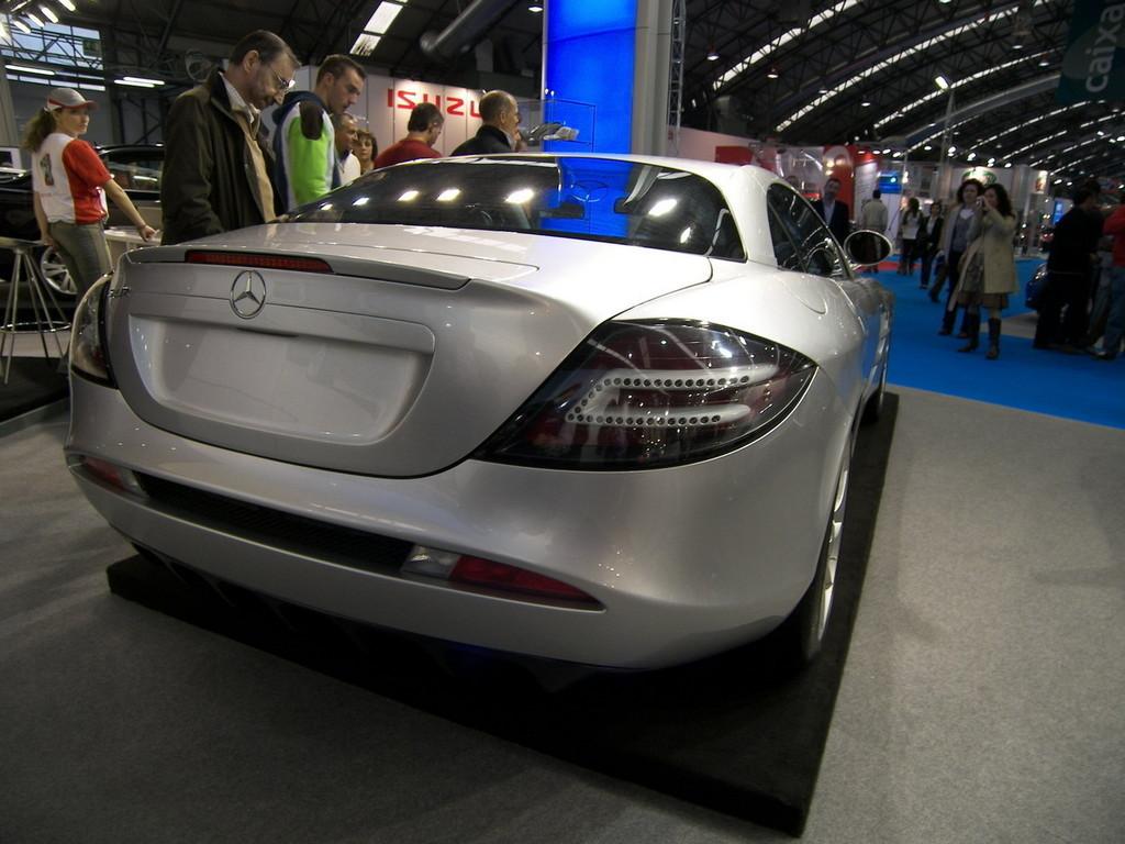Foto de Mercedes SLR McLaren en el Salón de Vigo (1/9)