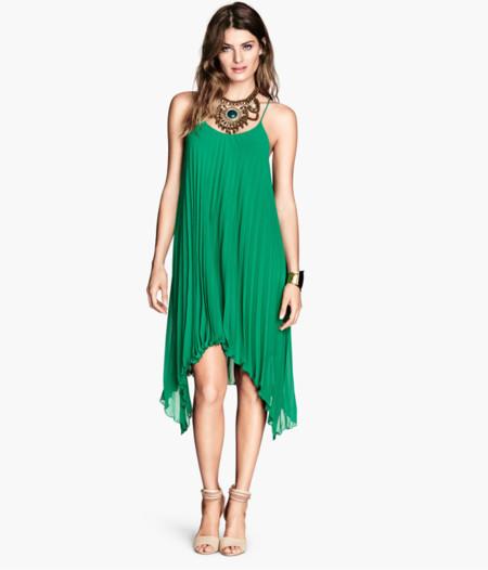 HM Vestido verde