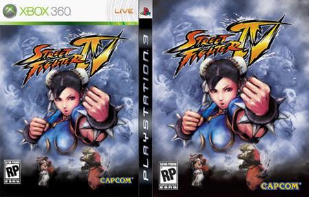 Portada americana de Street Fighter IV