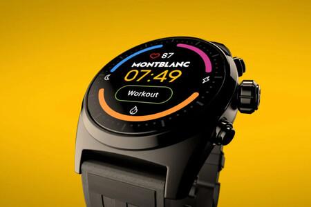 Montblanc Summit Lite: un smartwatch de lujo con WearOS que supera los 800 euros