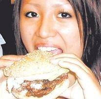 Fast food japonés, hamburguesa de ballena