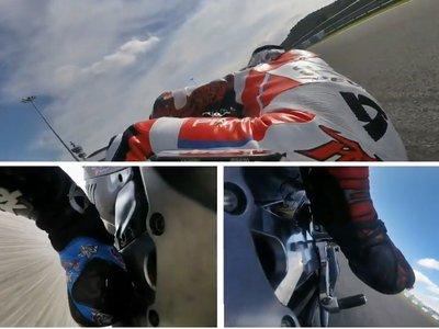 Este vídeo sincronizado de Pramac Ducati es una lección magisral de cómo usar los pies en moto