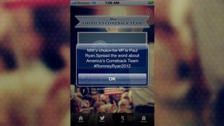 La estrategia de Mitt Romney para generar conversación a través de una aplicación móvil
