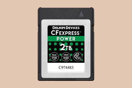 Delkin Devices presenta una nueva tarjeta CF Express de 2TB de almacenamiento y escritura de 1430 MB/s