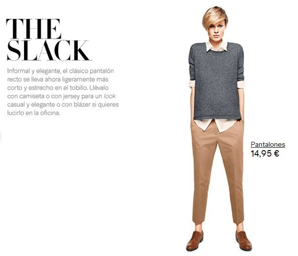 pantalon H&M slack