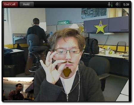 Videoconferencia en Yahoo Messenger