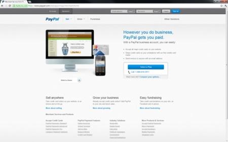 PayPal moderniza su portal web con un nuevo diseño