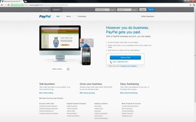 paypal web