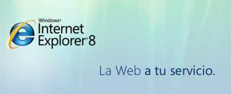 Internet Explorer 8 disponible en unas horas