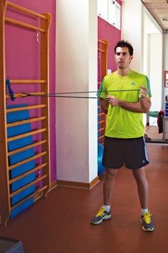 Preparación física en pádel. Manguito rotador