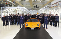 Lamborghini ha fabricado 4.000 Murciélagos