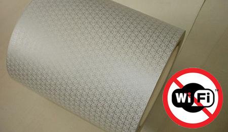 Un papel pintado capaz de absorber las ondas WiFi