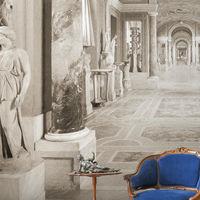 Grand Tour, el papel pintado que convierte tu casa en un palacio del siglo XVII