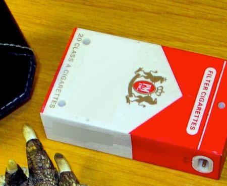 El paquete de tabaco que era un taser