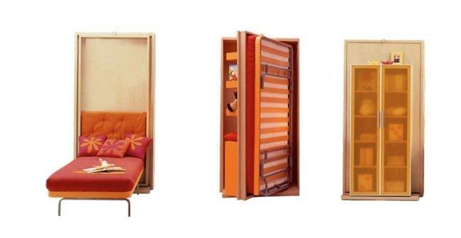 Las camas ocultas de clei for Muebles que se esconden