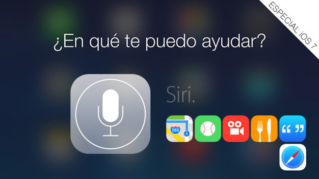 Guía definitiva de todo lo que puedes pedirle a Siri en iOS 7: Mapas, Deportes, Películas, Restaurantes, Búsqueda en Internet y conocimientos generales