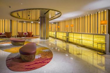 Los espectaculares resultados de un mobiliario tecnológico y artesanal en el hotel Sheraton de Miyazaki
