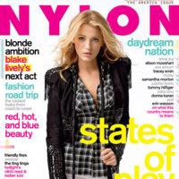 El estilazo de Blake Lively en Nylon noviembre 2009