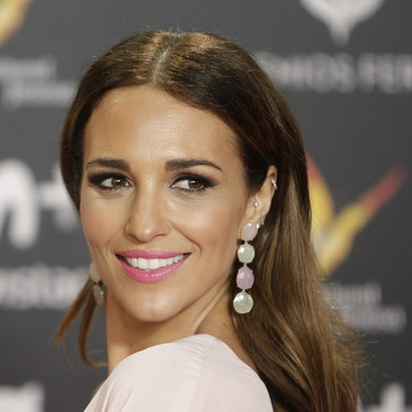 Paula Echevarría una diva de rosa en los Premios Feroz 2018