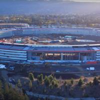 Un nuevo video a vista de drone nos muestra los más recientes avances del Apple Park