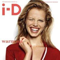 Natural, sencilla, ideal. Así es la nueva portada doble de la revista i-D