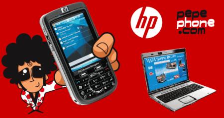 Pepephone también ofrece internet móvil asociado a HP
