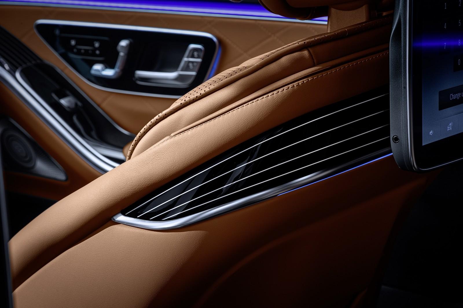 Mercedes-Benz Clase S 2021 teaser interior