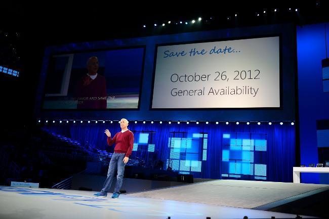 Anunciando el lanzamiento de Windows 8