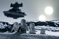 Fotografías de Lego Star Wars al detalle, una combinación adictiva