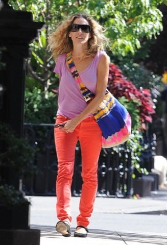 Look calle famosa, Sarah Jessica Parker