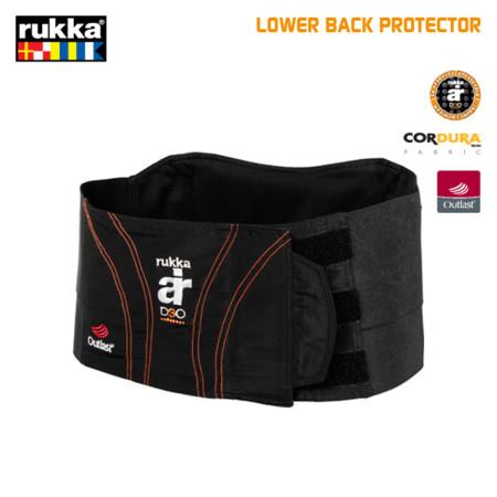 Rukka Lower Back Protector, faja y protección lumbar al mismo tiempo