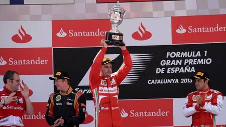 Alonso Espana F1 2013