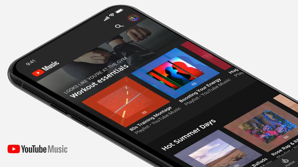 YouTube Music se actualiza con un widget para igualar a Google™ Play Music